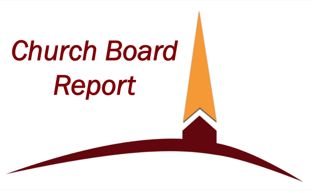 Five Forks BIC January Church Board Report to the Congregation – Board Report